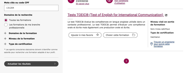 Choisir une formation TOEIC à Rennes