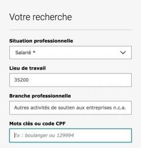 Rechercher une formation en anglais à Rennes